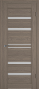 Межкомнатная дверь Profil 2.65DX Сиена LACOBEL Белый Лак со стеклом