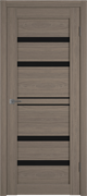 Межкомнатная дверь Profil 2.65DX Сиена LACOBEL Черный Лак со стеклом