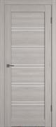 Межкомнатная дверь Profil 2.69DX Стоун LACOBEL Белый Лак со стеклом