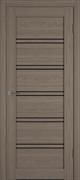 Межкомнатная дверь Profil 2.69DX Стоун LACOBEL Черный Лак со стеклом