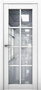 Межкомнатная дверь Profil 101RU Аляска со стеклом