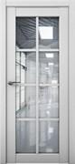 Межкомнатная дверь Profil 101RU Манхэттен со стеклом