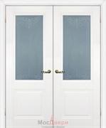 Дверь распашная двустворчатая Profil 9U Аляска Узор Мателюкс