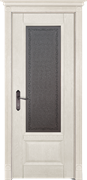Межкомнатная дверь Массив Дуба Двери Белоруссии Рочестер Слоновая Кость Кристалл со стеклом