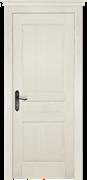 Межкомнатная дверь Массив Сосны Двери Белоруссии Энфилд Слоновая кость глухая