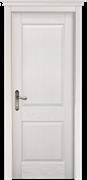 Межкомнатная дверь Массив Сосны Двери Белоруссии Ставангер Белый Классик глухая